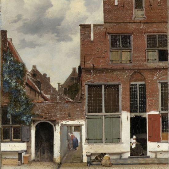 La ruelle de Vermeer