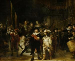 La Ronde de nuit, de Rembrandt