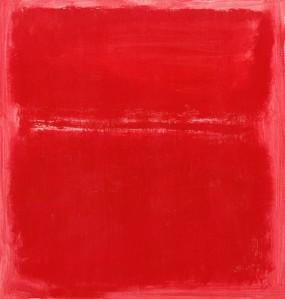Mark Rothko, sans titre 1970, acryl sur toilr