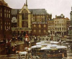 La place Dam, par George Hendrik Breitner, 1898 Stedelijk Museum Amsterdam