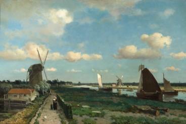 Jan Hendrik Weissenbruch: Le canal de halage