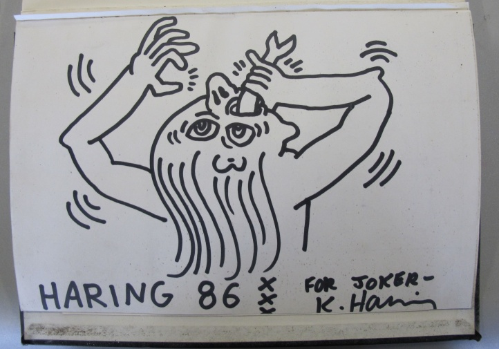 Un Black Book de Keith Haring, 1986