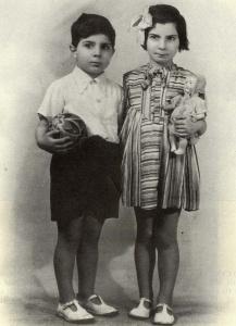 Solange et Albert Ben-David, nés à Paris. Deux des victimes françaises de Sobibor. Photo Yad Vashem.