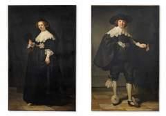 Le couple Soolmans - Coppit, peint par Rembrandt en 1641