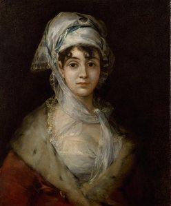 Francisco José de Goya y Lucientes (1746–1828), Portrait de l'actrice Antonia Zárate, c 1810–11