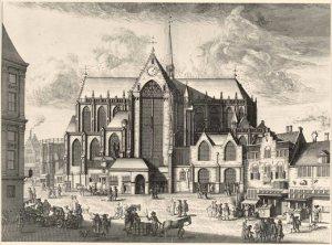 L'Eglise Neuve au XVIe siècle.