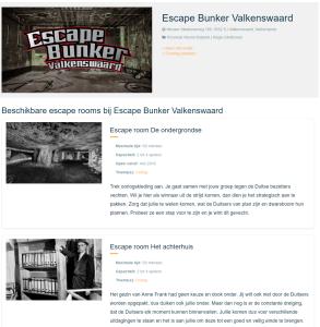 Escape Bunker Valkenswaard • Reviews  Ervaringen  Adres en Prijzen