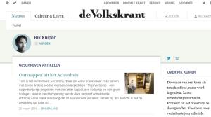 Rik Kuiper   Redactie   de Volkskrant