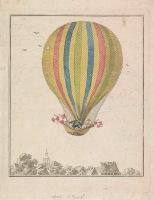 L'ascension de M. Augustin à Amsterdam, 1806. Rjksmuseum.