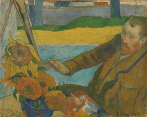 Paul Gauguin (1848 - 1903), « Vincent van Gogh peignant des tournesols 1888, Van Gogh Museum, Amsterdam (Vincent van Gogh Stichting).