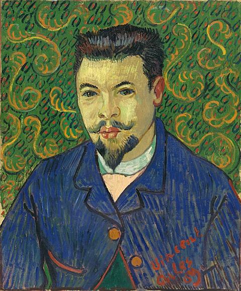 Vincent van Gogh: Portrait du Dr Félix Rey, janvier 1889.
