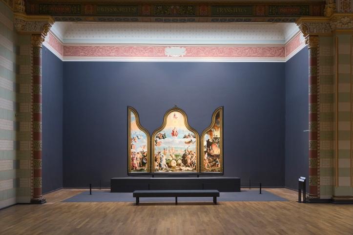 Le dernier jugement dans la Galerie d'Honneur du Rijksmuseum. Photo: Olivier Middendorp