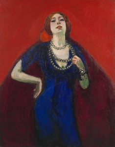 Kees van Dongen La robe bleue lowres